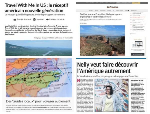Agence de voyage française USA