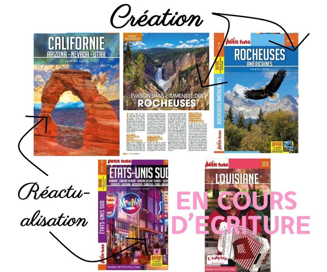 Guides touristiques Etats-Unis