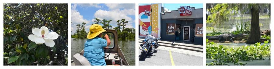 Montage Louisiane 2 - Que voir en Louisiane