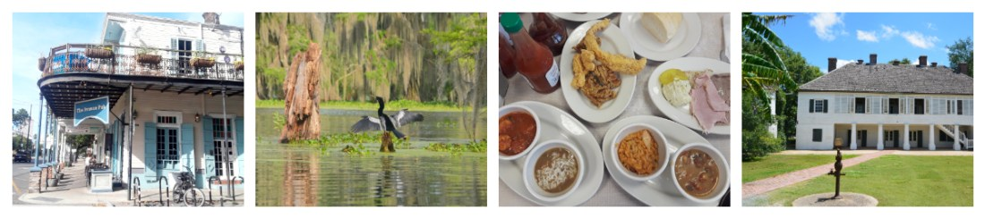 Montage Louisiane - Travel planner & coach du voyage aux Etats-Unis