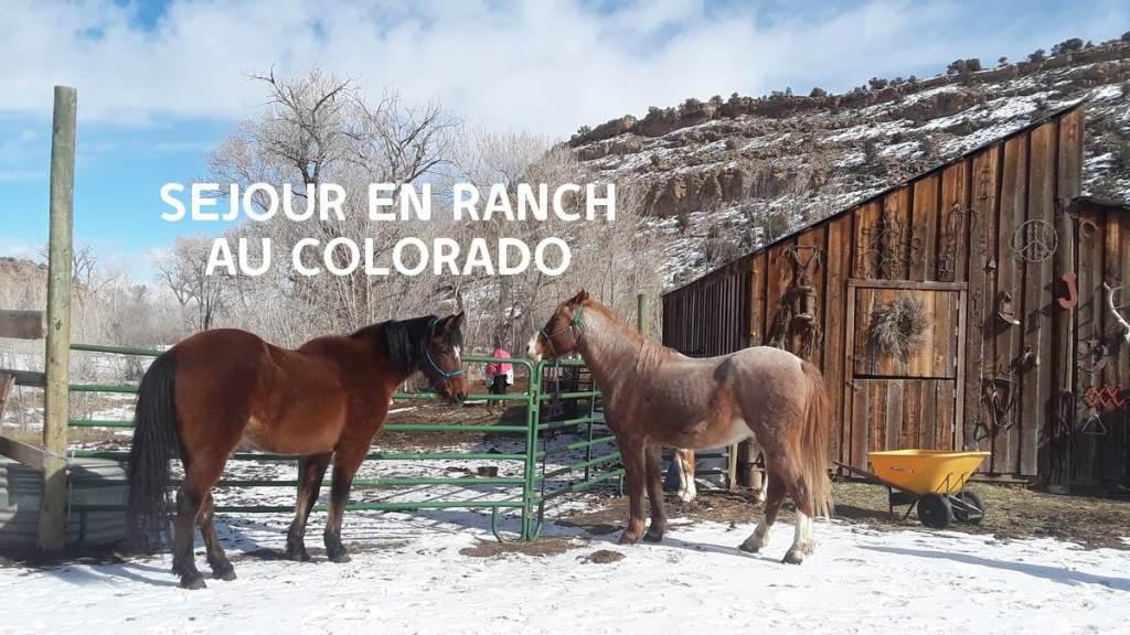 Séjour ranch Colorado