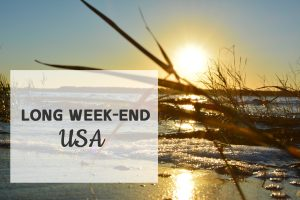 Organisation long week-end usa