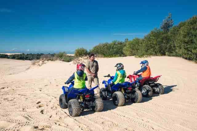 Travel With Meraki - Sand Dune Adventures - Quad Biking - Stockton Beach - Newcastle - Australia