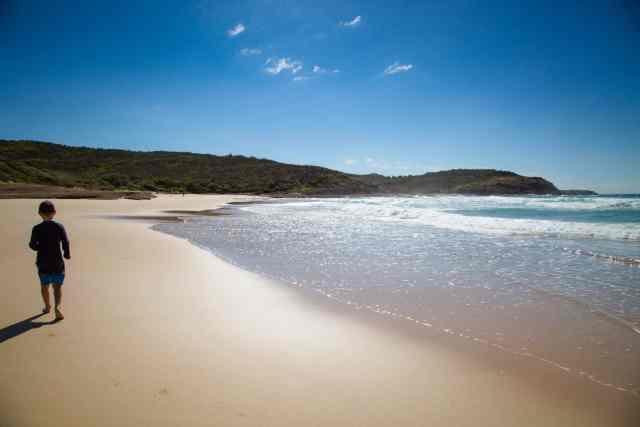 Travel With Meraki - Frazer Beach - Central Coast - NSW - Australia