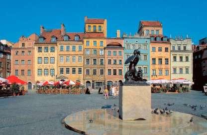 戰後根據資料與記憶重建原貌的華沙