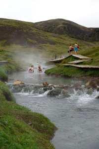 Reykjadalure 野溪溫泉