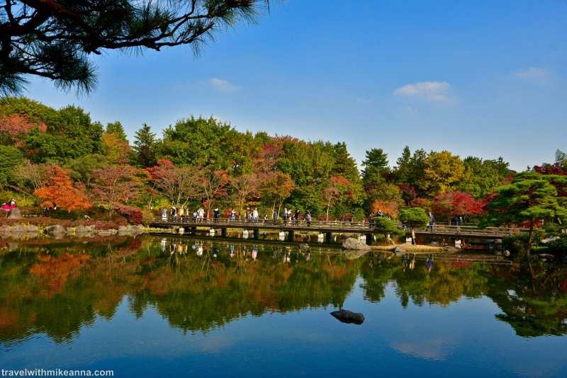 昭和紀念公園 日本庭園