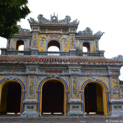 Imperial City of Hue, Central Vietnam