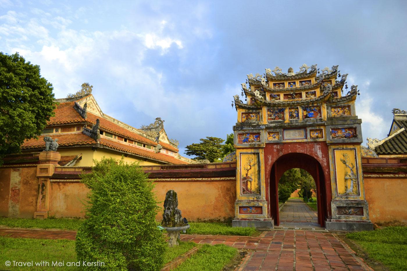 Imperial City of Hue, Central Vietnam