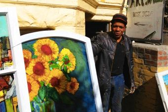 Chris Duke: A Blues Musician and Window Glass Painter in San Francisco