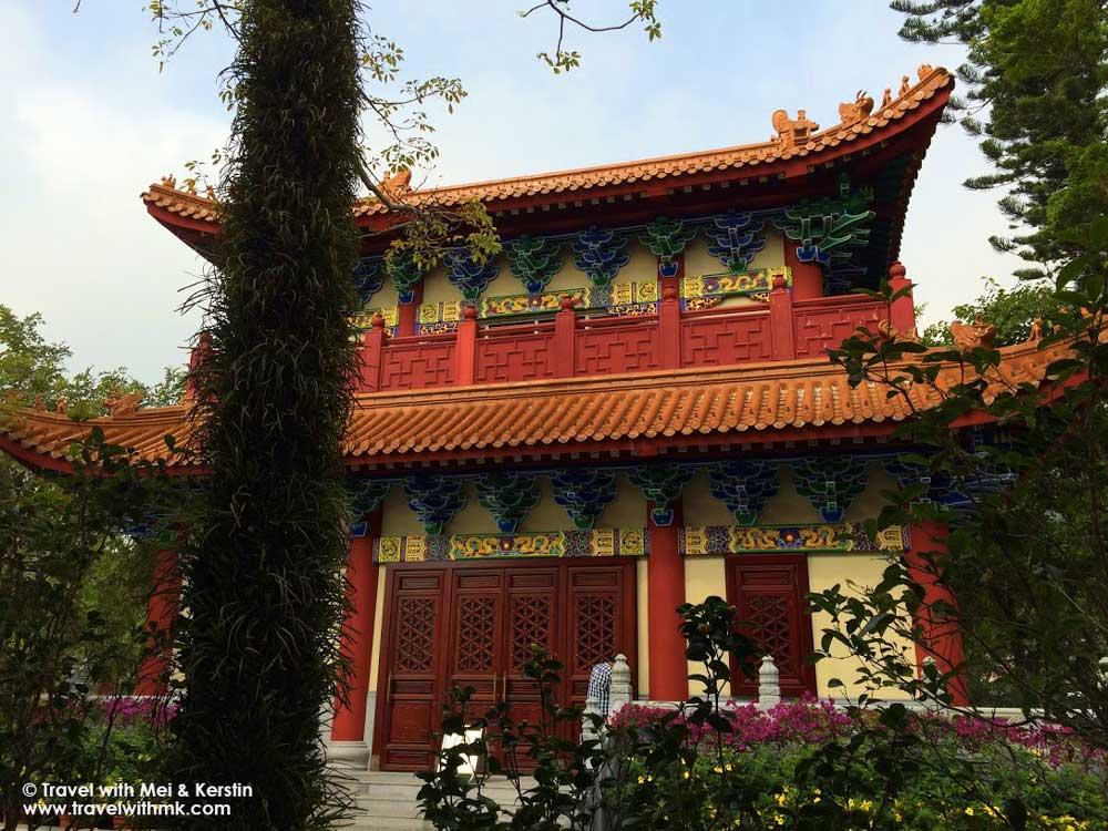 Po Lin Monastery, Lantau Island, Hong Kong © TravelwithMK.com