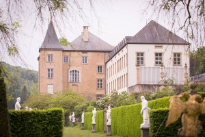 Grand Château d'Ansembourg, Luxembourg. Photo by Jessica Sesko for Mei and Kerstin