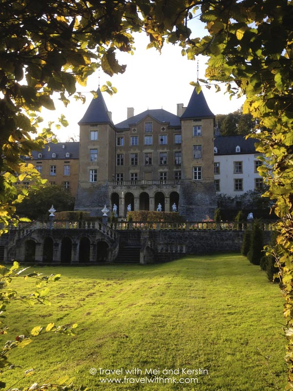 The New Castle of Ansembourg, Luxembourg © Travelwithmk.com