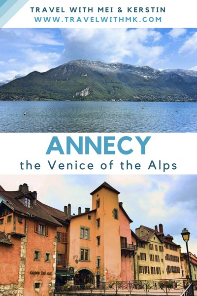 Annecy: the Venice of the Alps © Travelwithmk.com