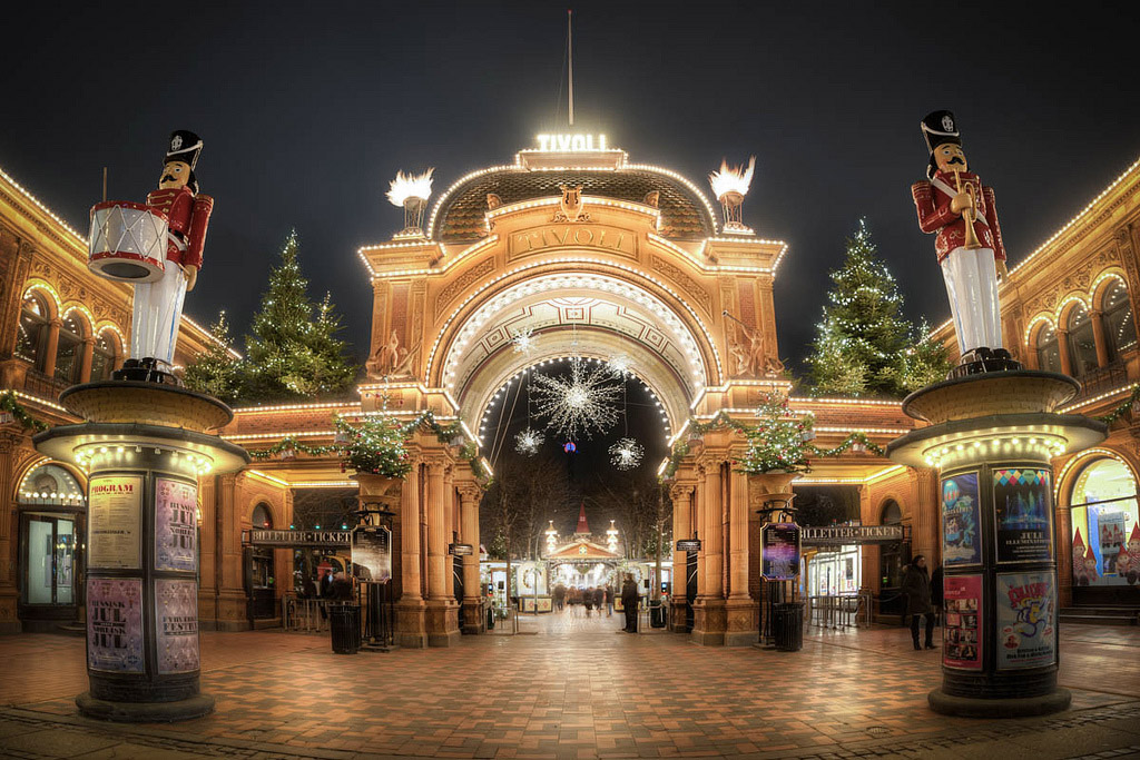 Christmas in Tivoli Gardens: a Fairytale Land in Copenhagen