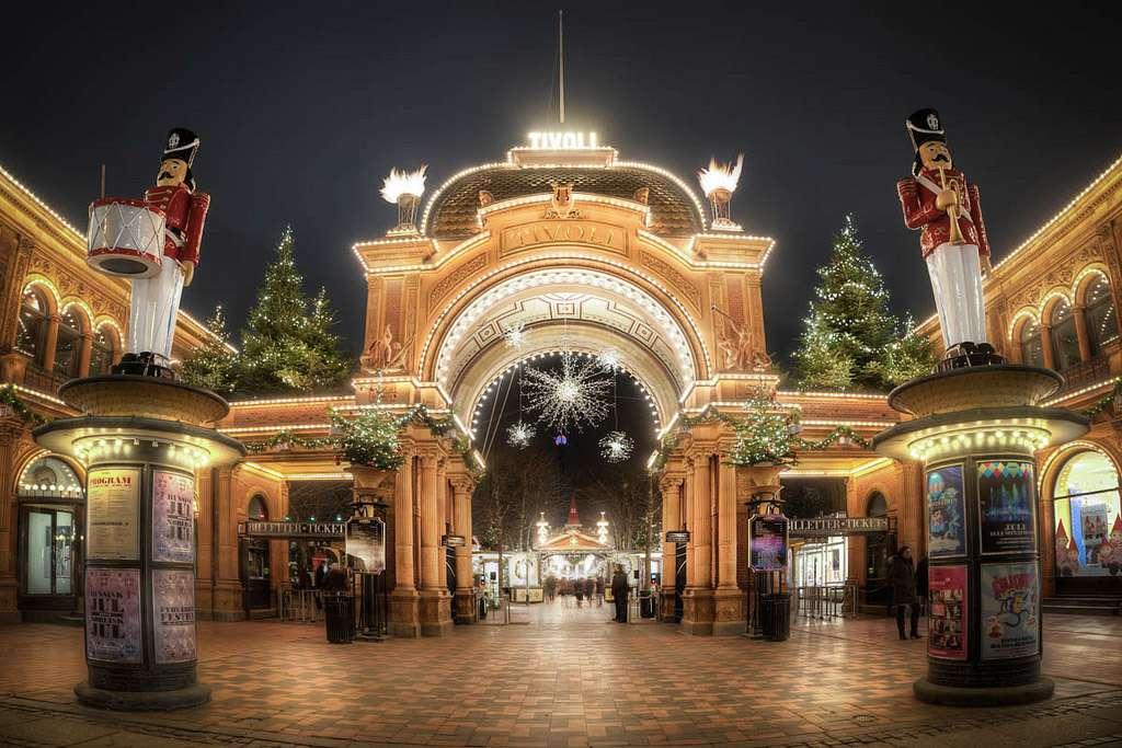 Christmas in Tivoli Gardens: a Fairytale Land in Copenhagen
