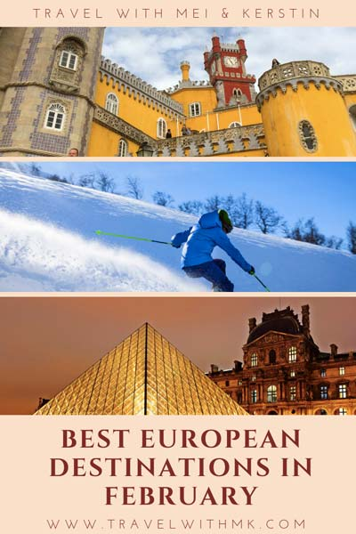 Best European Destinations in February © Travelwithmk.com