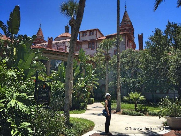 Flagler College in St Augustine, Florida © Travelwithmk.com