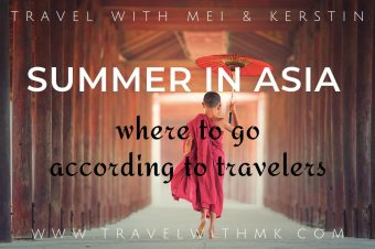 Summer in Asia: where to go according to travelers