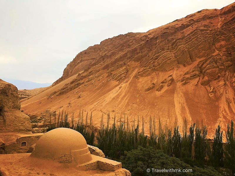 Bezeklik Caves in Turpan, China © Travelwithmk.com