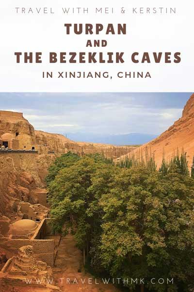 Turpan and the Bezeklik Caves in Xinjiang, China © Travelwithmk.com