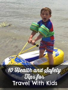 Health and Safety Travel Tips Pin