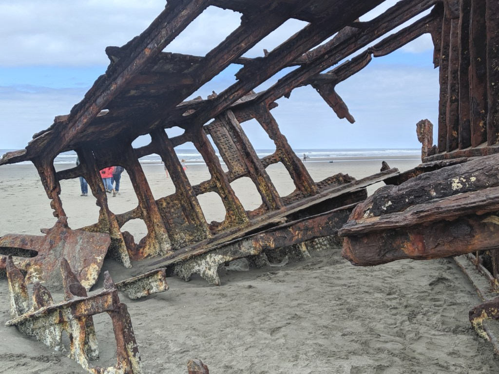 Peter Iredale Fort Stevens State Park