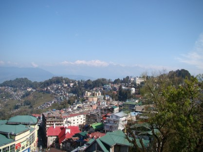 Great Himalaya mountain range