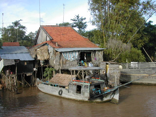 כפר בדלתת המקונג, וייטנאם