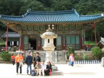 מקדשים בשמורת הטבע סאורק דונג בדרום קוריאה
