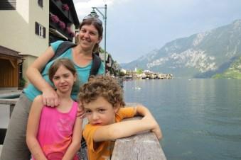 האלשטאט, אוסטריה עם הילדים