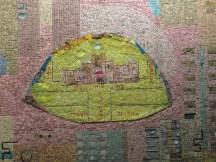 הגימנסיה הרצליה בפסיפס של נחום גוטמן במגדל שלום