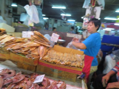 השוק ברובע הסיני בצ'יאנג מאי