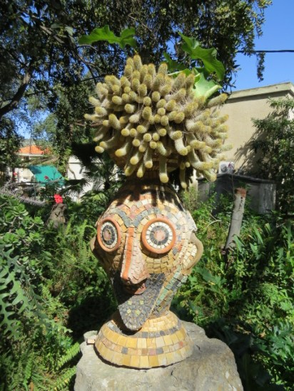 גן הפסלים בקיבוץ אילון