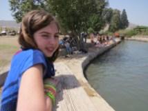 הבריכה המשולשת בפארק המעיינות