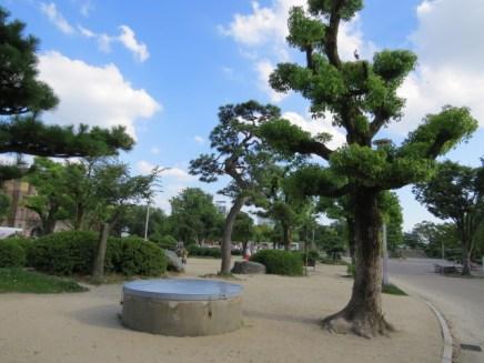 חצר מצודת אוסקה