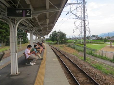 בתחנת הרכבת בהוטקה