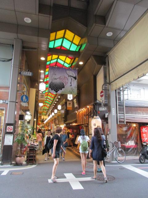 שוק האוכרובע גיון בקיוטול נישיקי בקיוטו