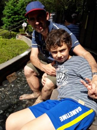 אונסן רגליים במוזיאון הפתוח בהאקונה