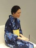 רובוטית אנושית במוזיאון הפיתוחים וההמצאות באודאיבה