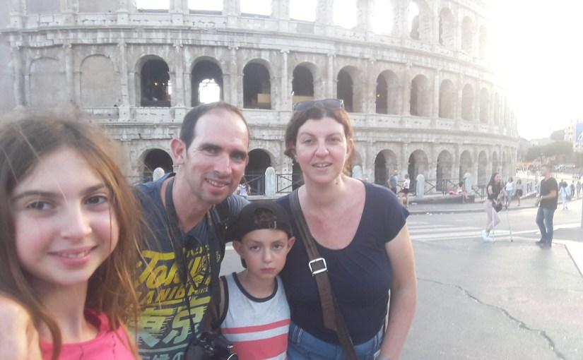 כיצד טיילנו עם הילדים ברומא?