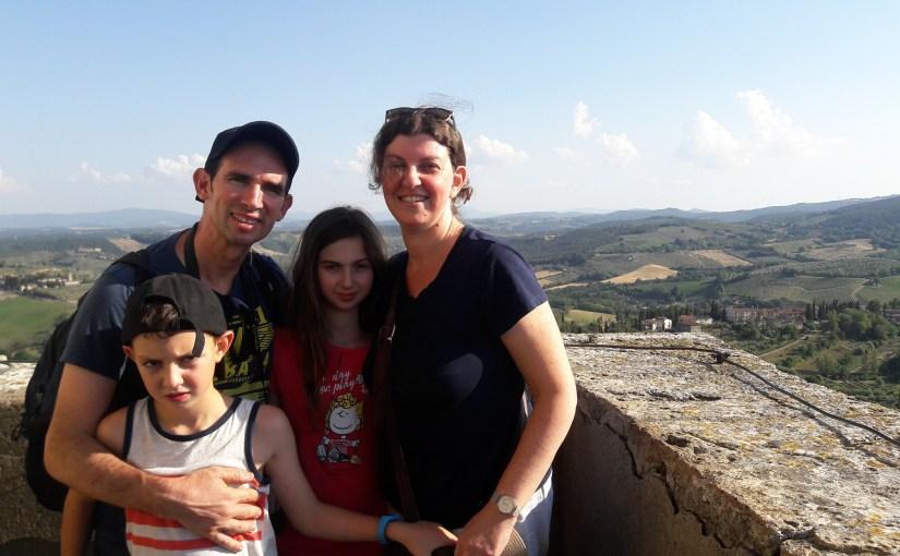 מסלול טיול משפחתי באיטליה