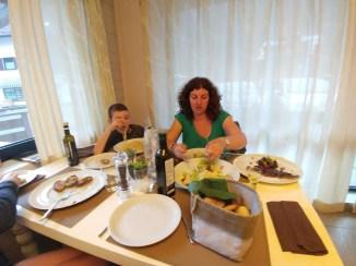 במסעדת טוביה בקמפיטלו די פאסה