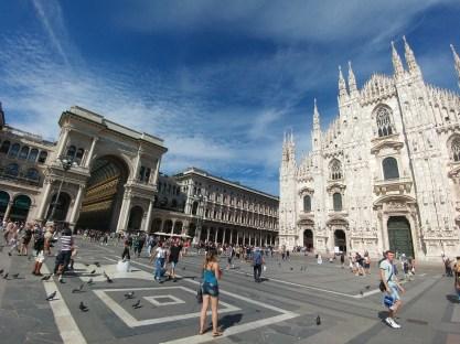 כיכבר הדואומו במילאנו