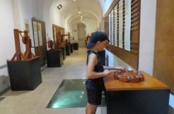 הספינר במוזיאון ליאונרדו דה וינצ'י ברומא