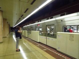 רכבת תחתית בפוקואוקה, יפן