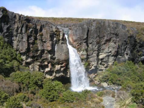 מפל טרנקי בשמורת הטונגרירו