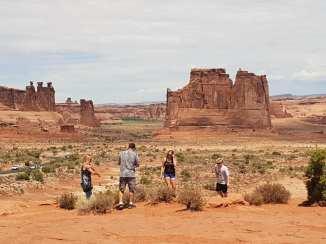 מסלול טיול בארצות הברית - שמורות בטבע במדבריות אריזונה ויוטה