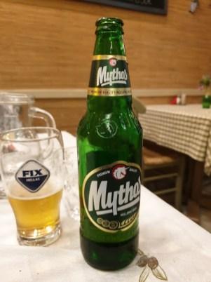 בירה יוונית מקומית - מיתוס