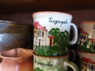 חנות המזכרות של קוסטה בעיירה טסגרדה, בחצי האי פיליון